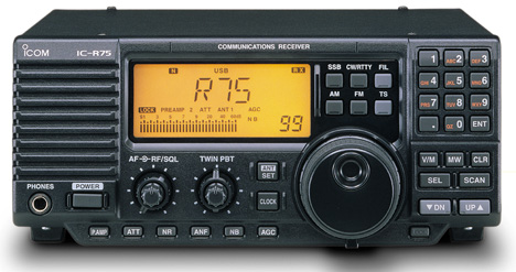 Survival Radio, ICOM IC-R75 Shortwave Receiver